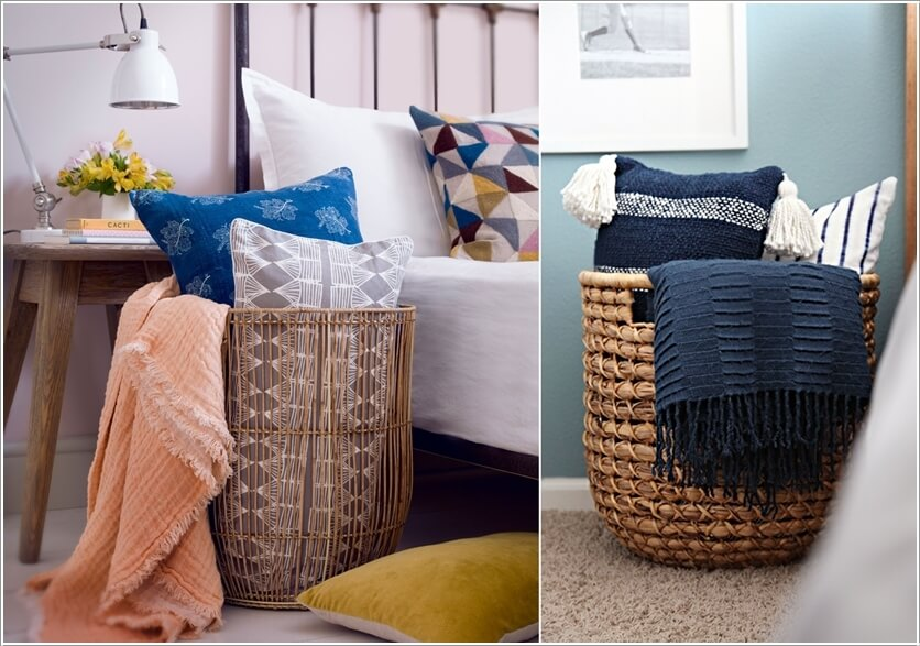 Pillow Storage Ideas