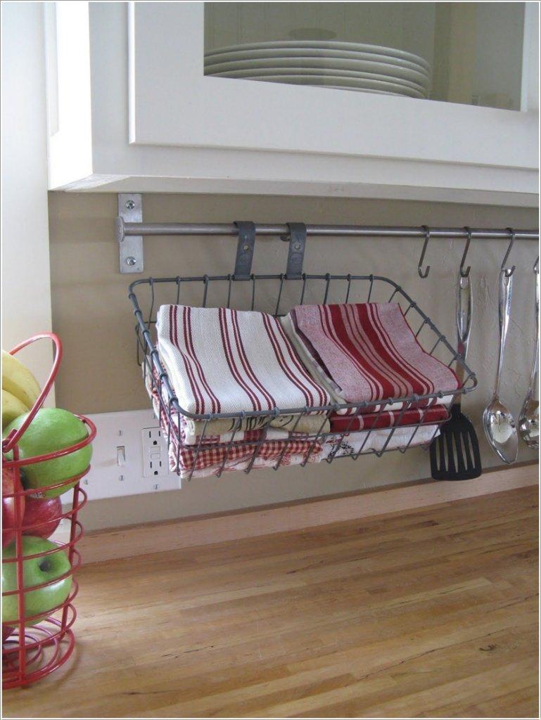 Dishcloth Storage Ideas