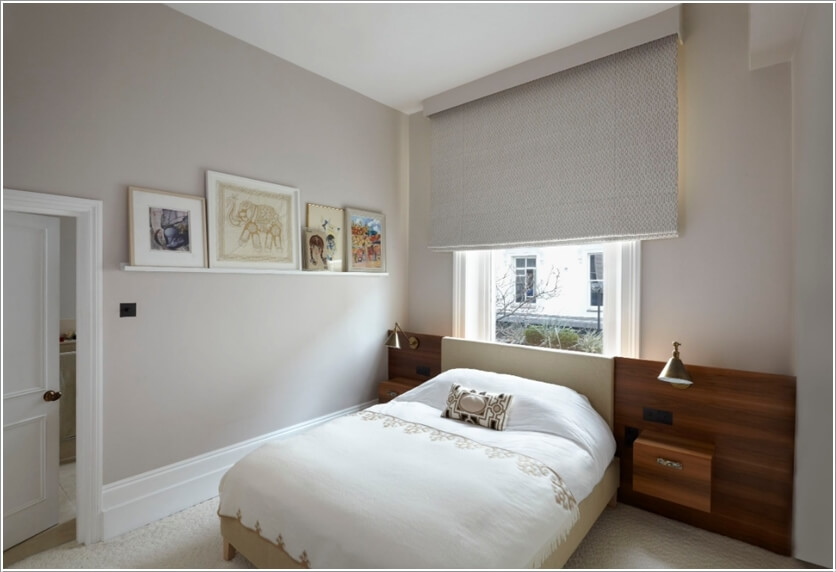Bed Against Window
