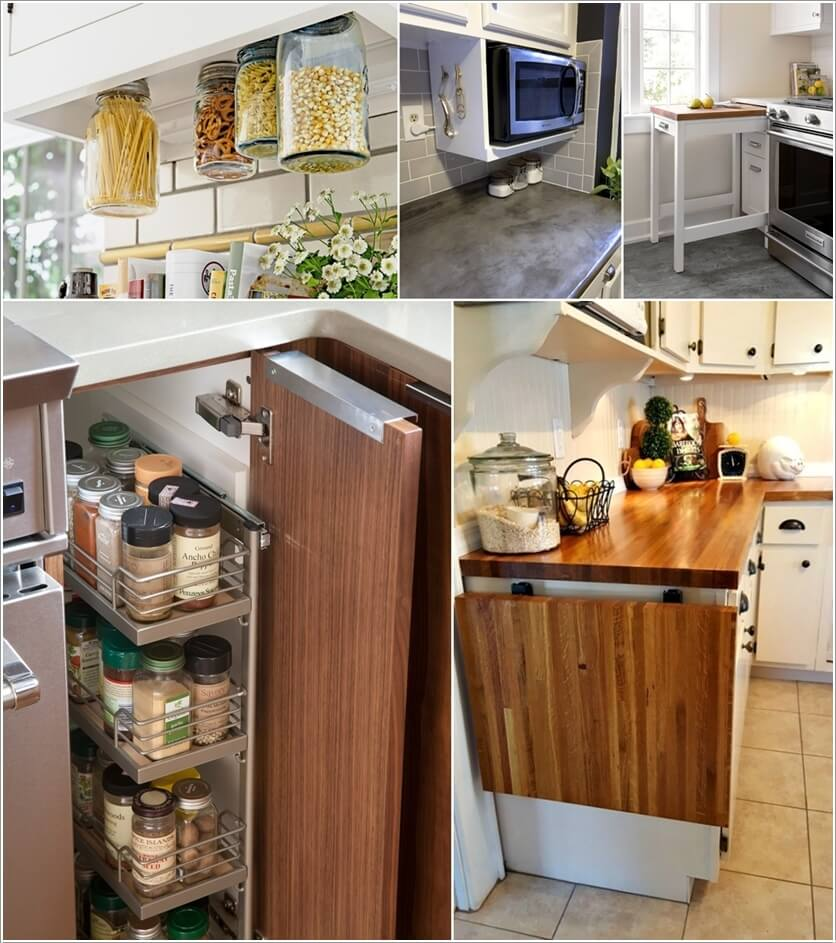 10 Clever Ideas For A Small Kitchen