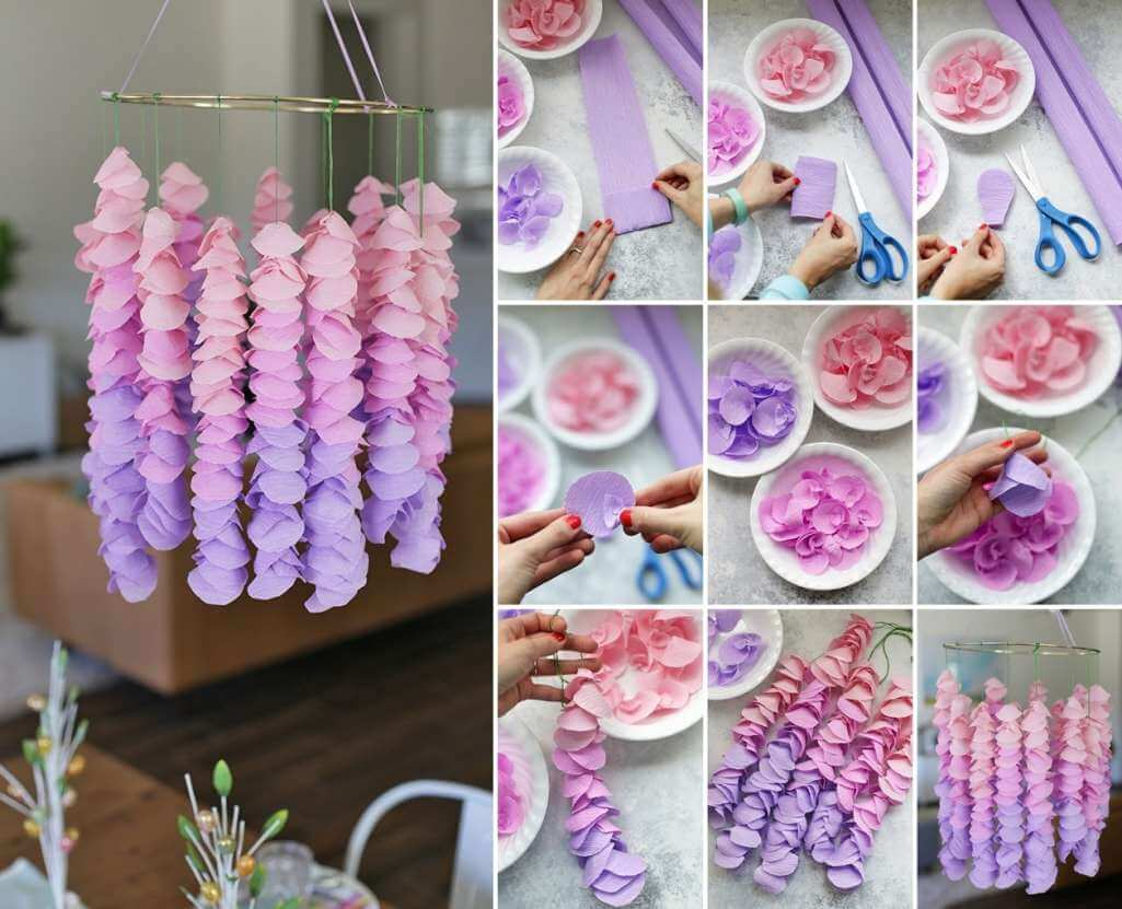 15 DIY Crepe Paper Decoration Ideas