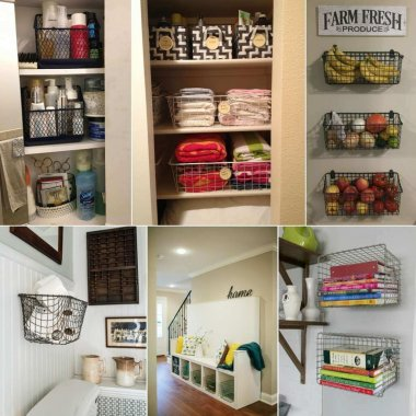 Decorate with Locker Baskets