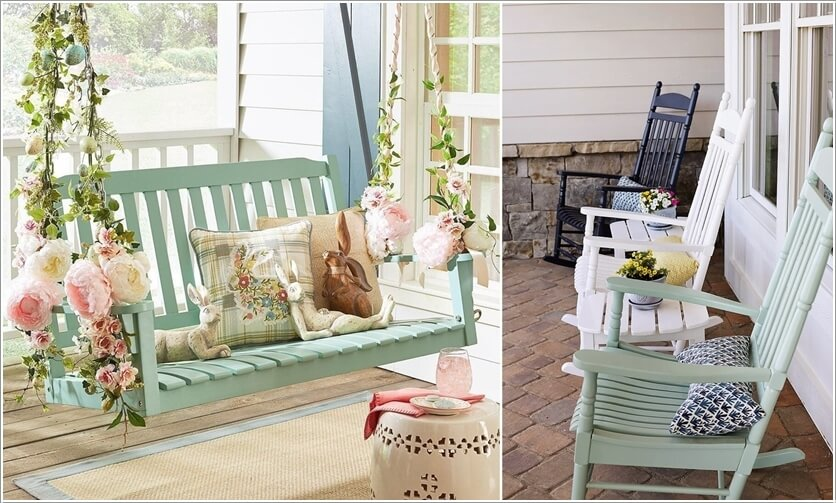 Summer Porch Decoration