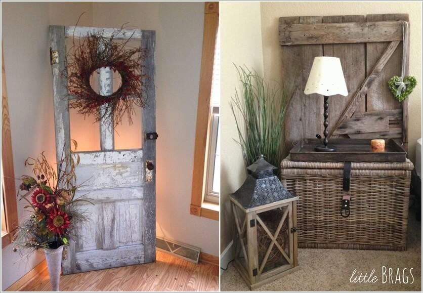 Old door recycle ideas