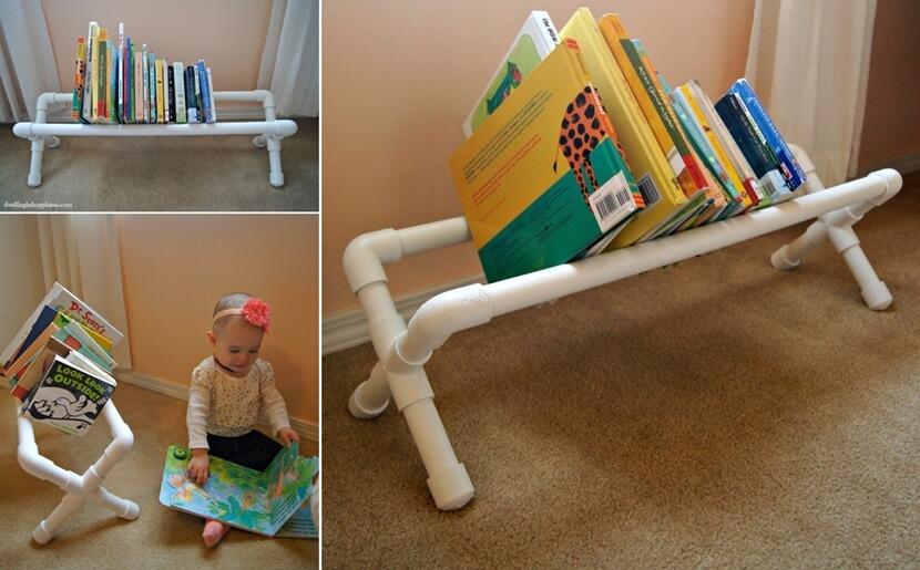 DIY Kids Book Storage Ideas
