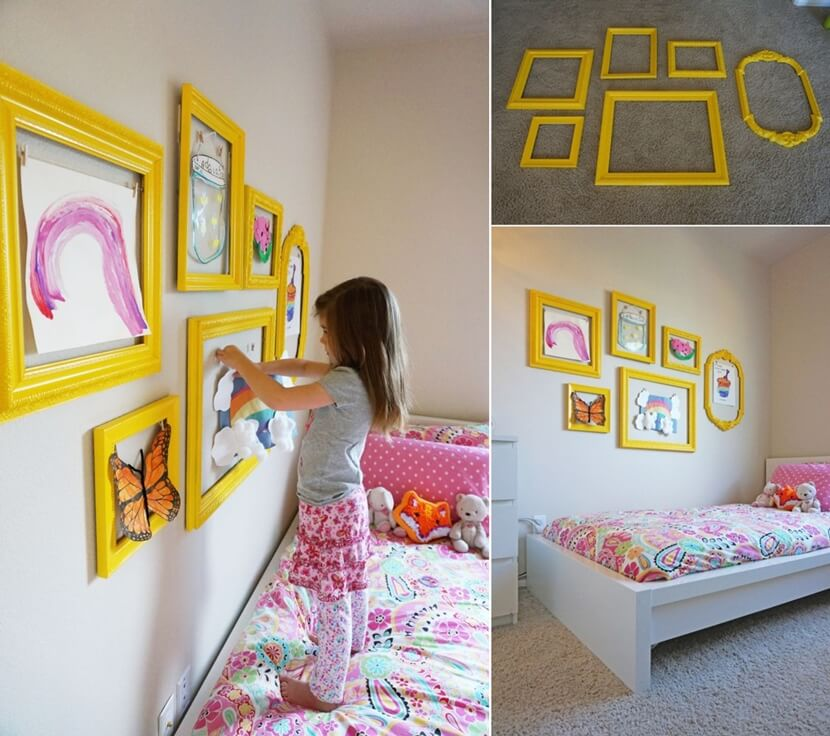 Inexpensive Kids Room Wall Decor Ideas