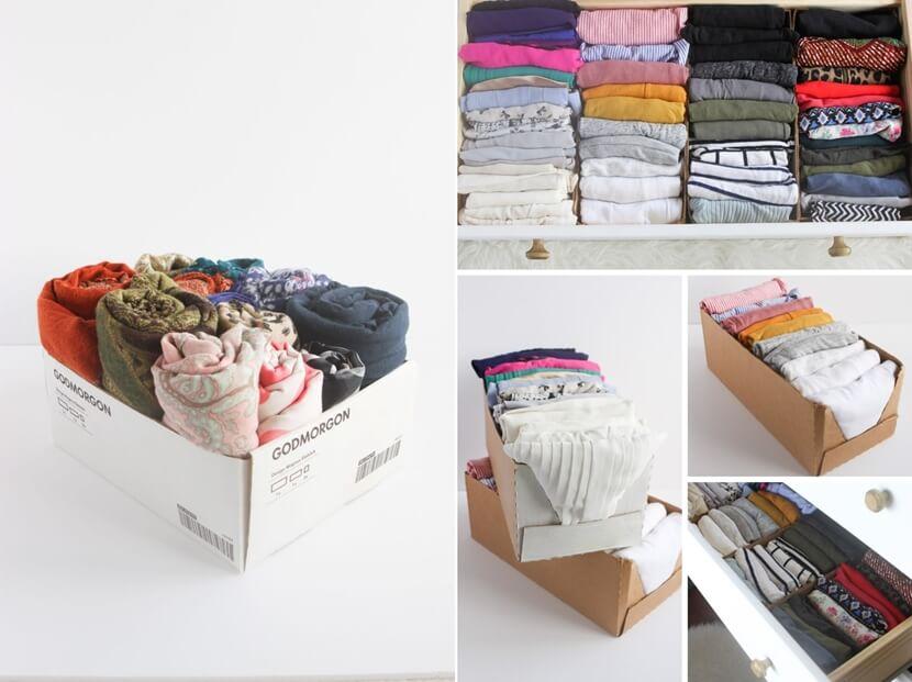 closet storage hacks