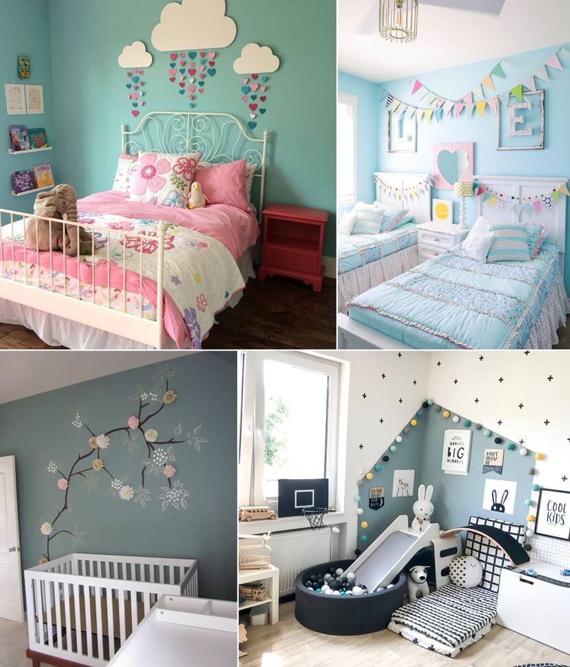 10 Inexpensive Kids Room Wall Decor Ideas