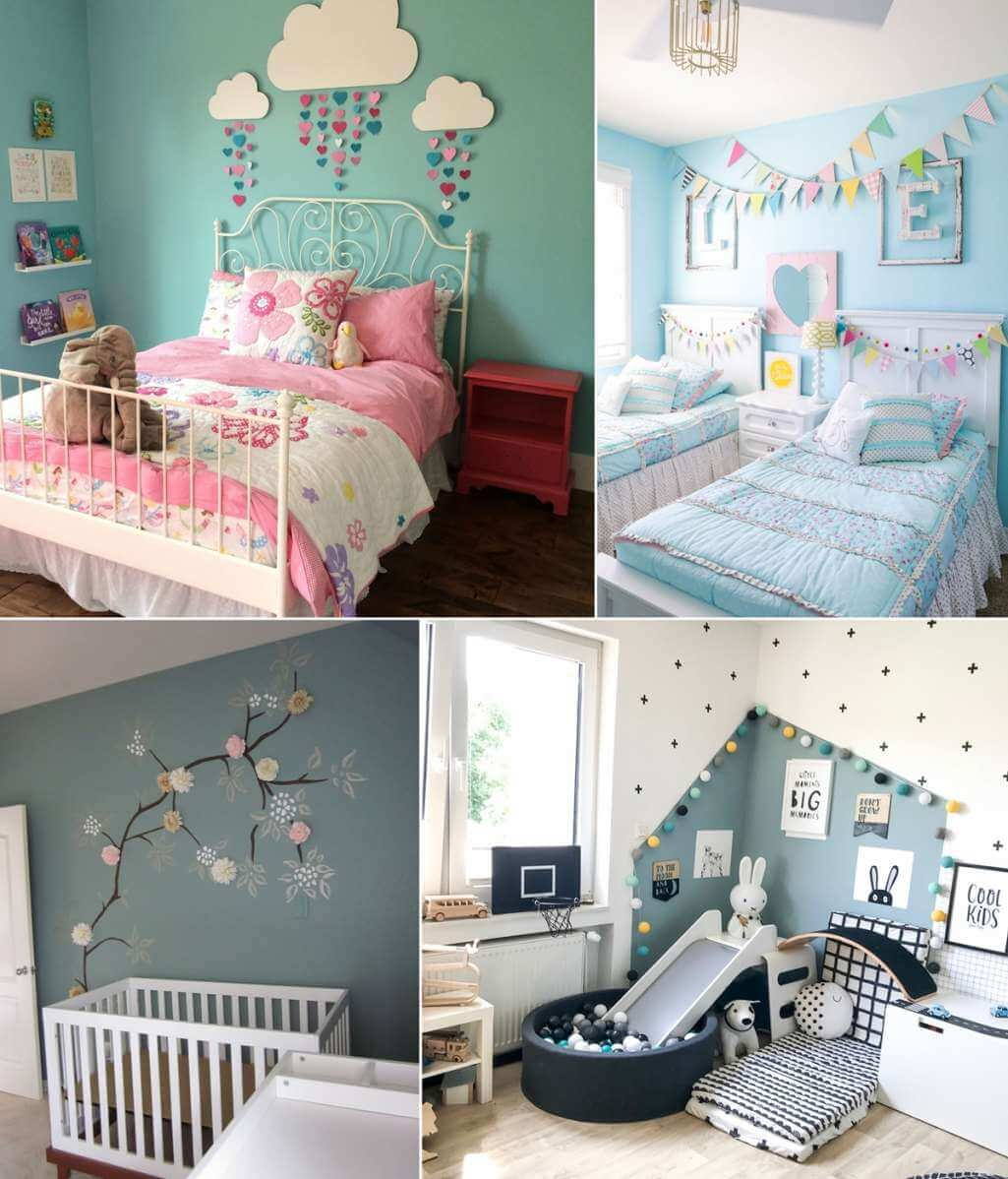10 inexpensive kids room wall decor ideas - Cheap decorating ideas for bedroom walls ...