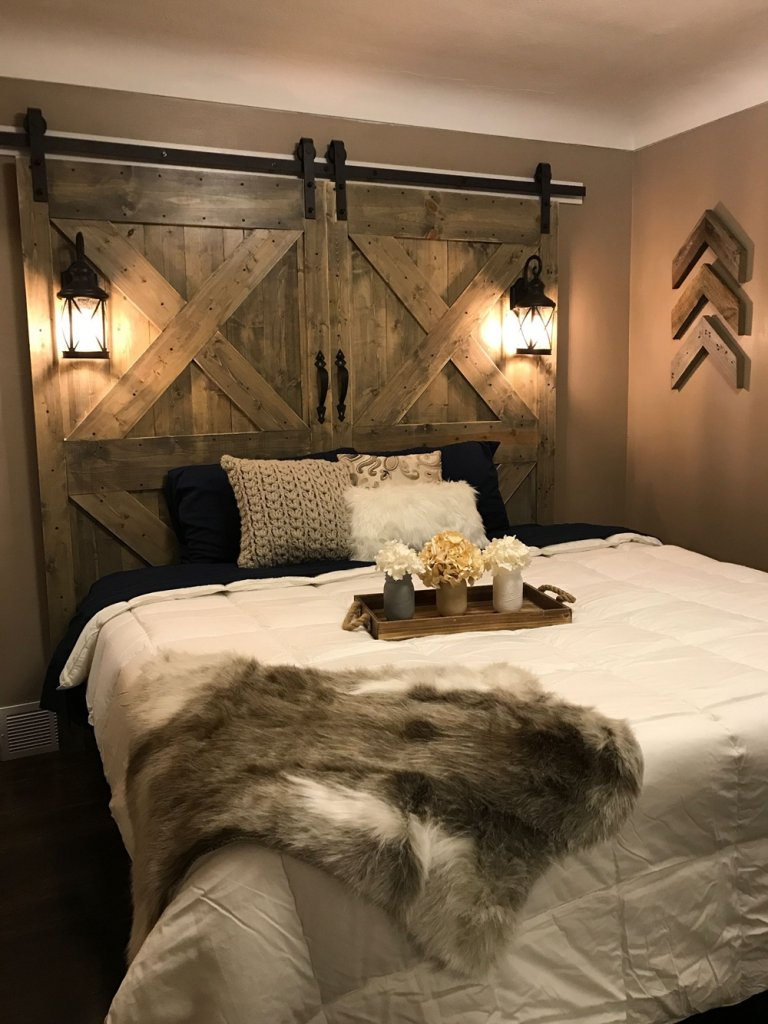 10 Diy Rustic Bedroom Projects
