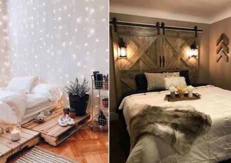 DIY Rustic Bedroom Projects