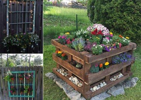 Low-Cost Garden Decor Ideas