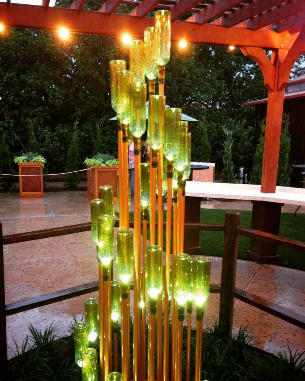 10 Diy Landscape Lighting Ideas From Recycled Materials