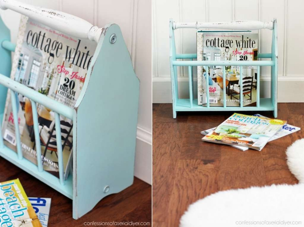 DIY Magazine Rack