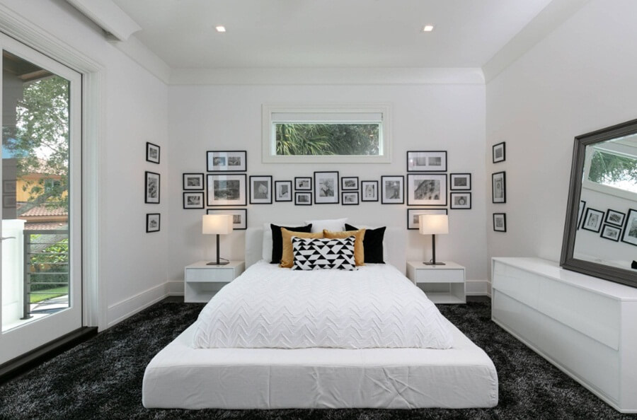 Tips to Decorate a Bedroom with White Furniture
