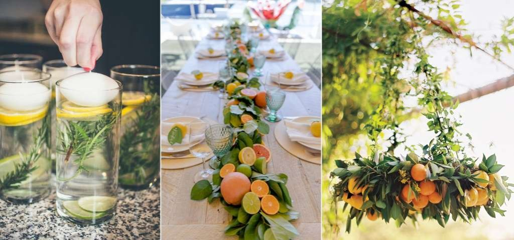 Citrus Party Decor Ideas