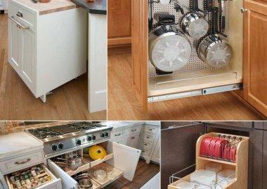 base cabinet storage ideas