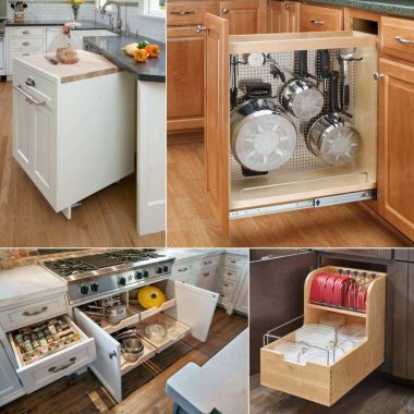 base cabinet storage ideas