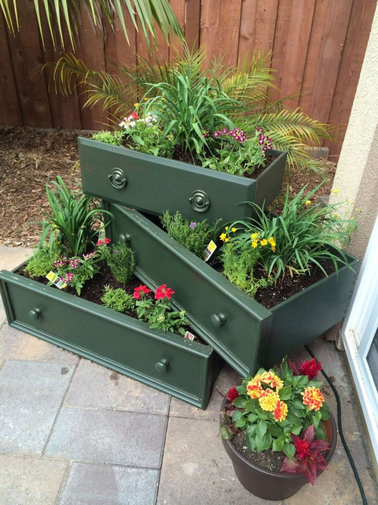 Tiered Planter Ideas