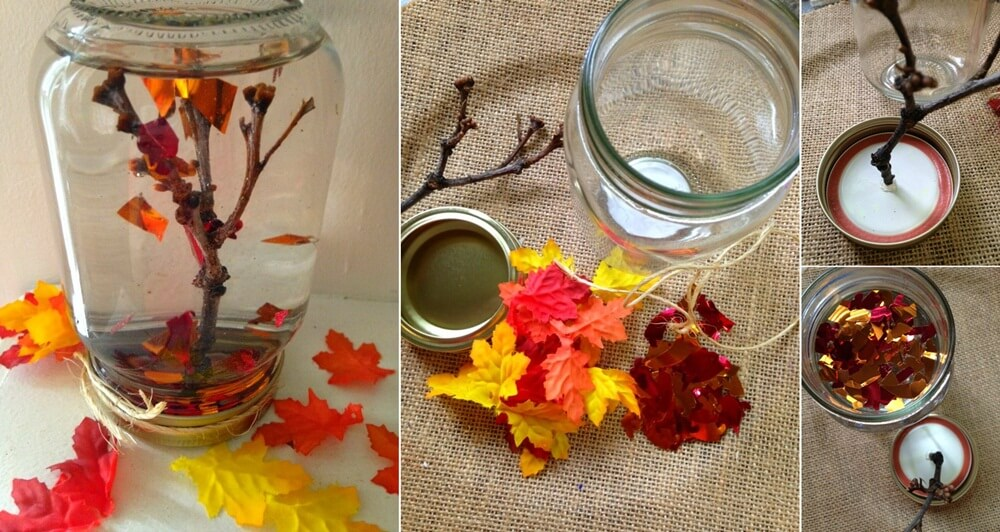 DIY Mason Jar Fall Crafts