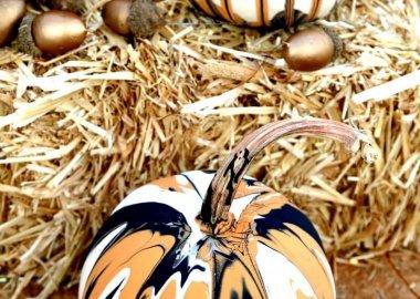 No Carve Pumpkin DIY