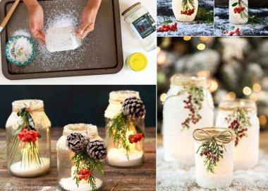 DIY Mason Jar Fall Crafts