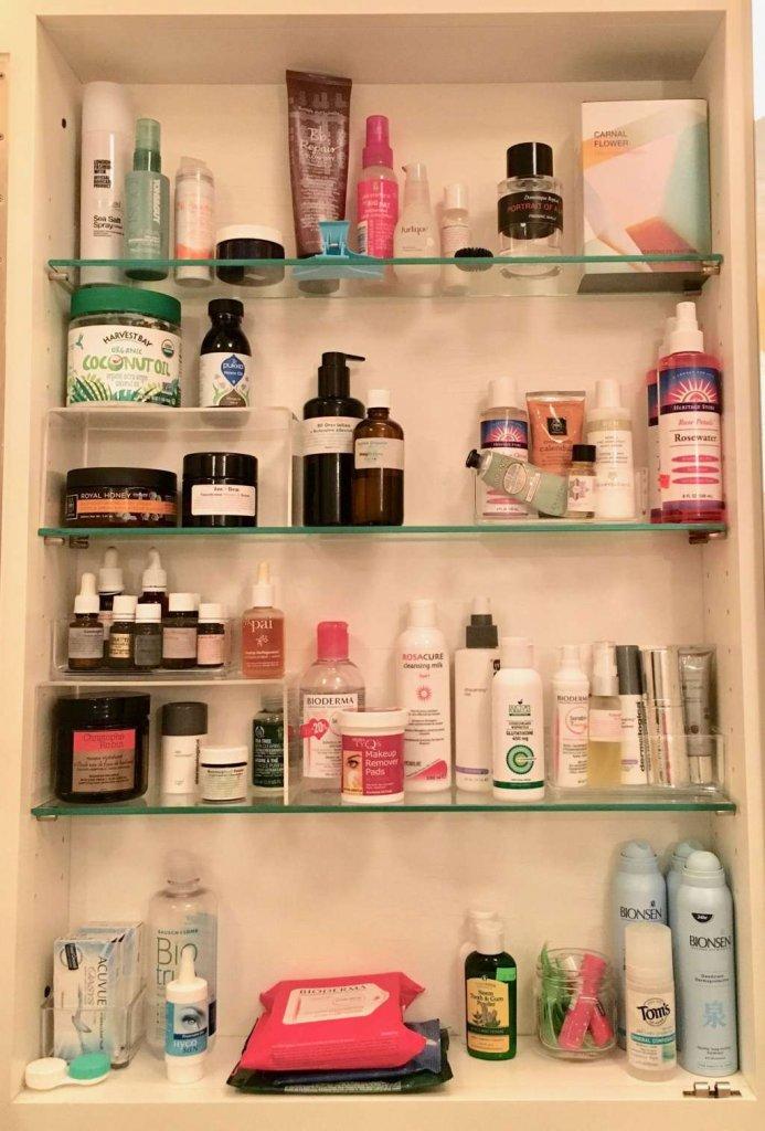 Bathroom Cabinet Organization Ideas