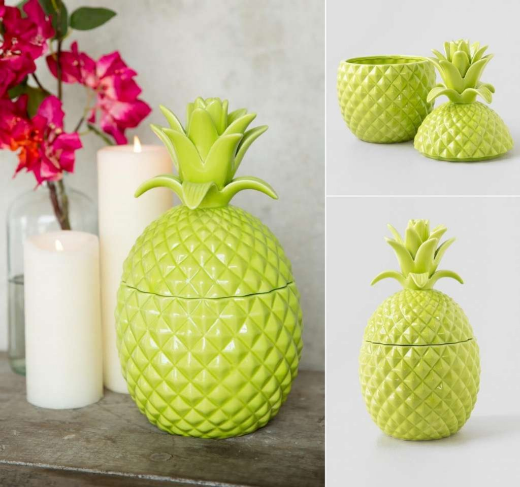 Pineapple Inspired Home Decor Ideas