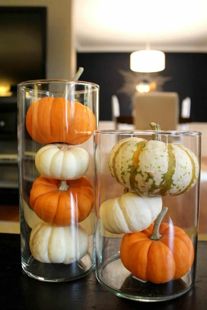 DIY Thanksgiving Table Decorations