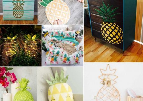 Pineapple Inspired Home Decor Ideas