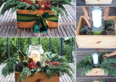 15 DIY Christmas Centerpiece Ideas