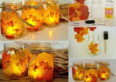 diy fall leaf crafts