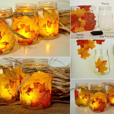 diy fall leaf crafts