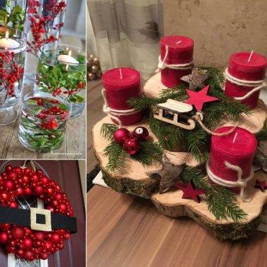 Red Christmas Decor Ideas