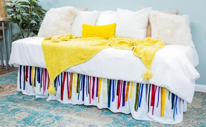 DIY Bed Skirt Ideas