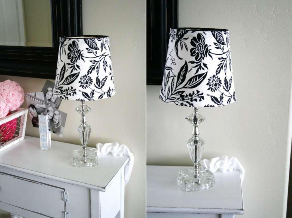 DIY Lampshade Makeover Ideas