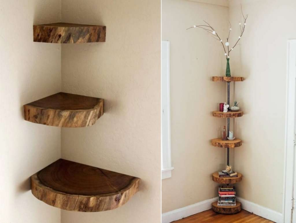 Corner Shelf Designs
