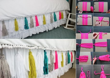 DIY Bed Skirt Ideas
