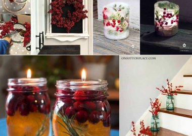Christmas Decor Ideas with Berries