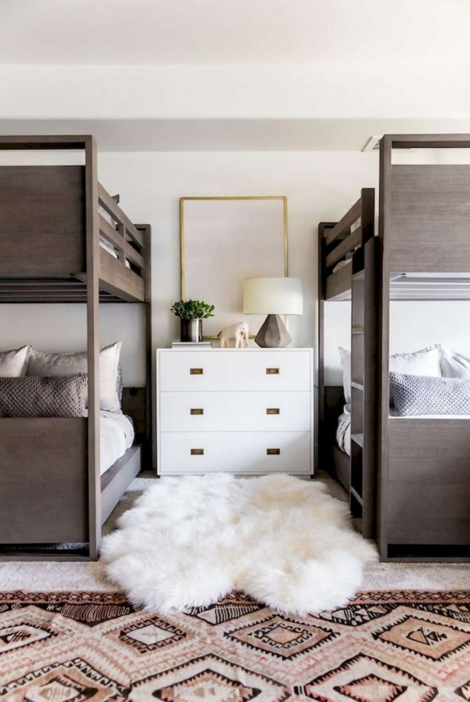 Modern Kids Bedroom Designs with Bunk Beds