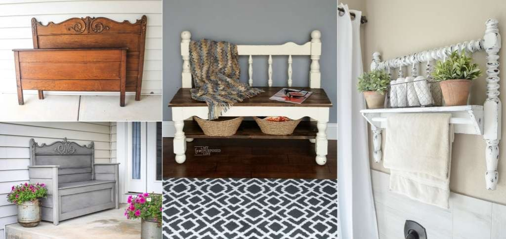 recycled headboard
