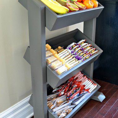 DIY Snack Storage Ideas