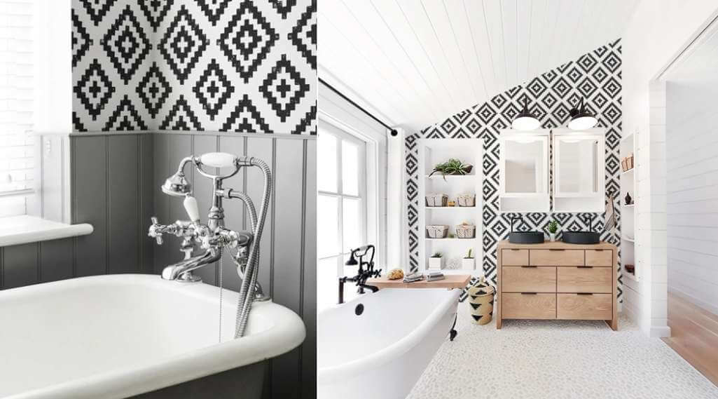 10 Ways to Decorate with Removable Wallpaper