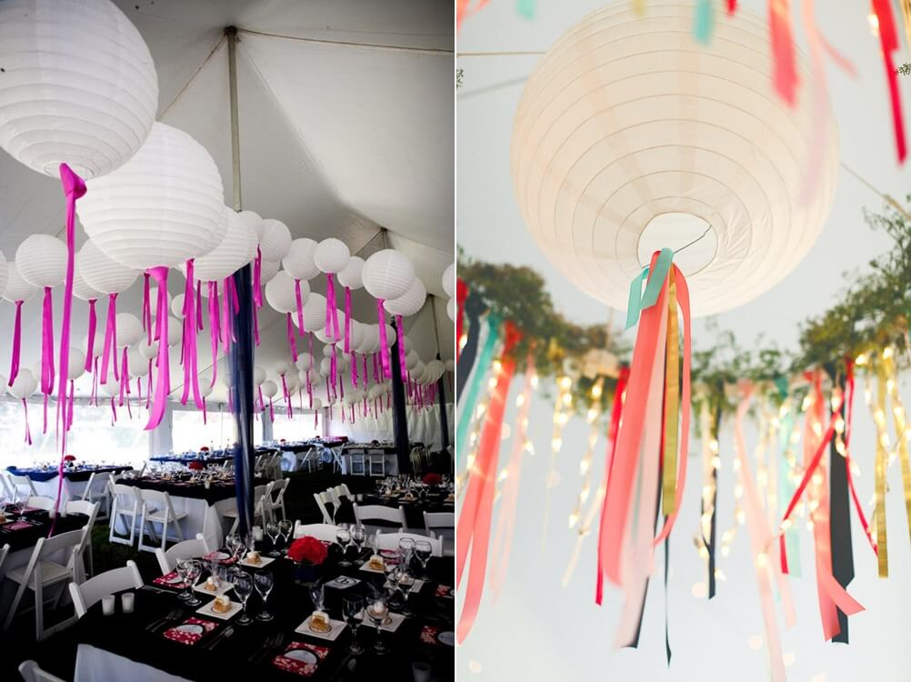 10 Paper Lantern Party Decor Ideas