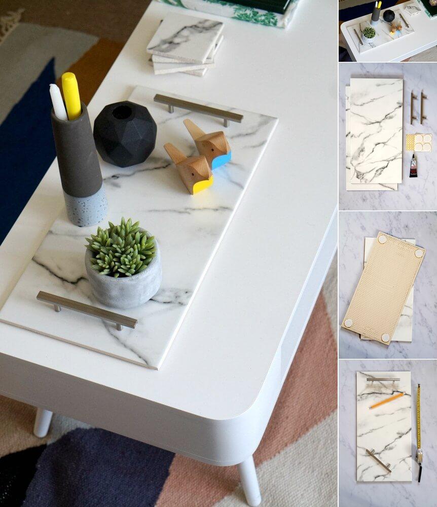 DIY leftover fliseprosjekter
