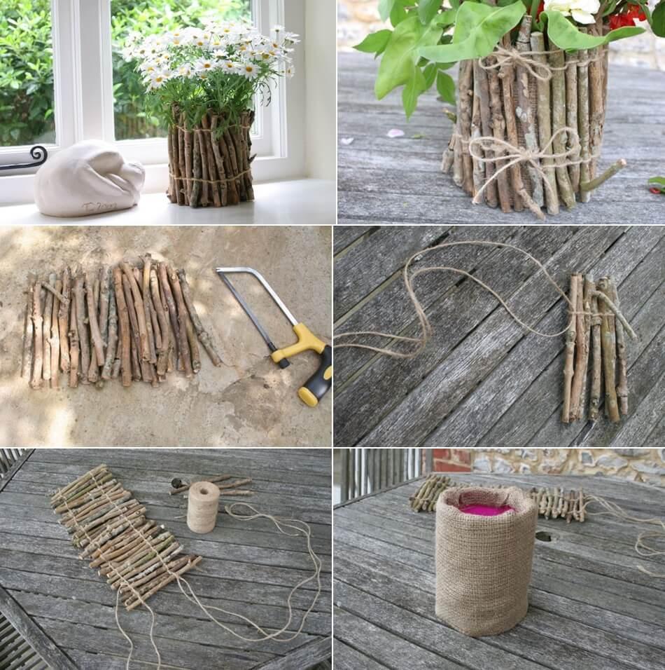DIY-kvister og grener-prosjekter