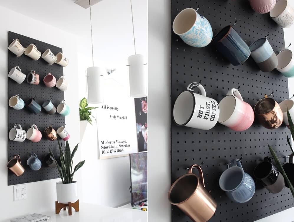 DIY Mug Racks
