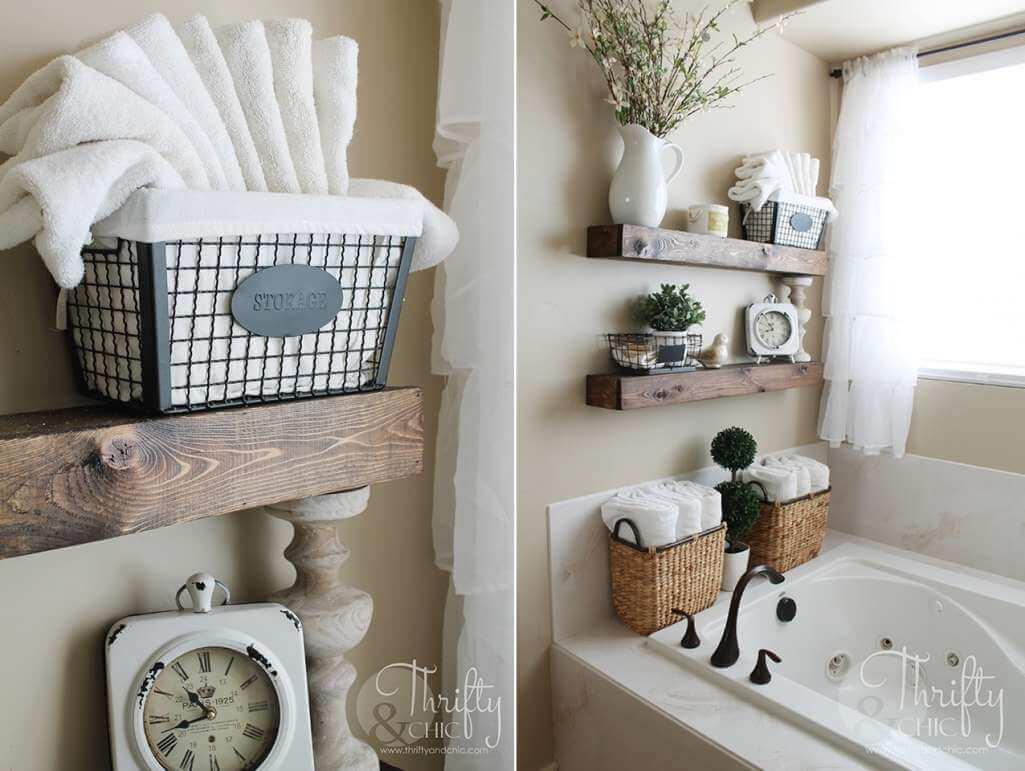Bathtub Storage Ideas