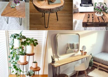 DIY Hairpin Leg Furniture