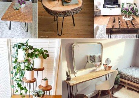DIY Hairpin Leg Furniture